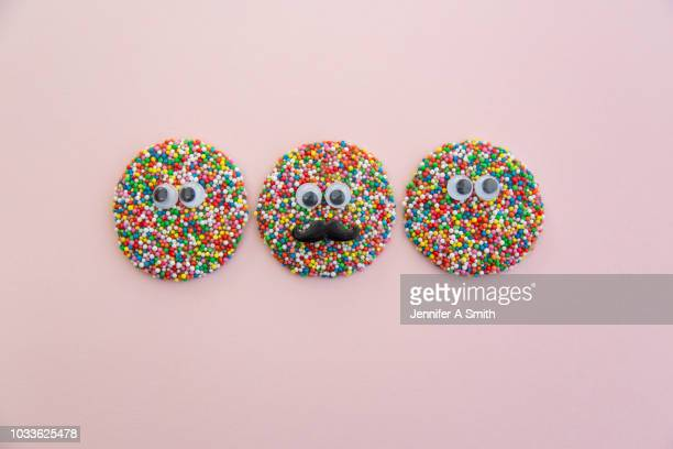 freckle faces - sugar sprinkles stock pictures, royalty-free photos & images