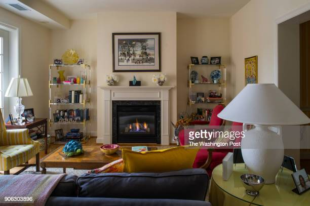 Fred and Jill Klein's living room in their Kennedy Warren apartment For a story on baby boomers selling their homes and renting in Washington DC on...