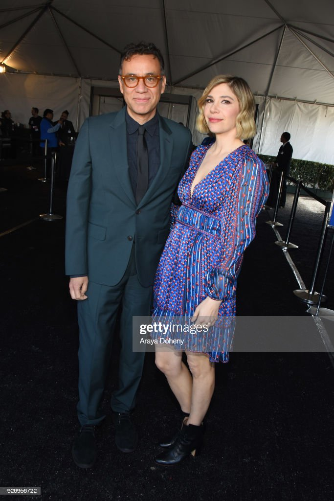 Fred Armisen and Carrie Brownstein attend the 2018 Film Independent Spirit Awards on March 3, 2018 in Santa Monica, California.