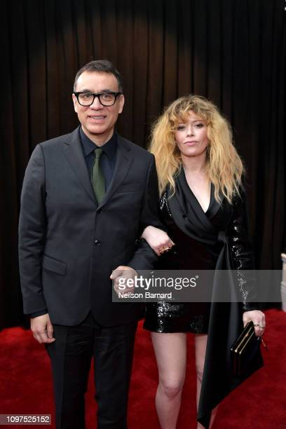 Fred Armisen and Natasha Lyonne attend the 61st Annual GRAMMY Awards at Staples Center on February 10 2019 in Los Angeles California