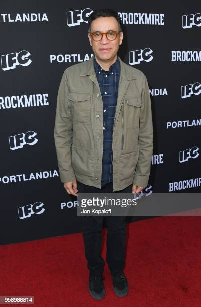 Fred Armisen attends IFC Hosts Brockmire And Portlandia EMMY FYC Red Carpet Event at Saban Media Center on May 15 2018 in North Hollywood California