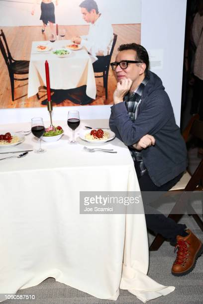 Fred Armisen attends IFC's Documentary Now Afterparty cohosted by Vulture and IFC at Kimball Terrace on January 27 2019 in Park City Utah