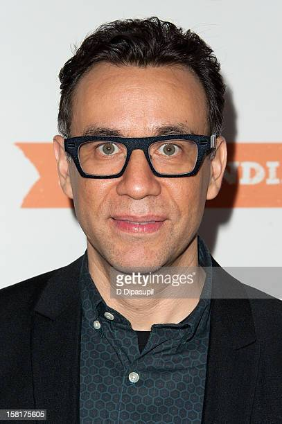 """Fred Armisen attends IFC's """"Portlandia"""" season 3 premiere at the American Museum of Natural History on December 10, 2012 in New York City."""