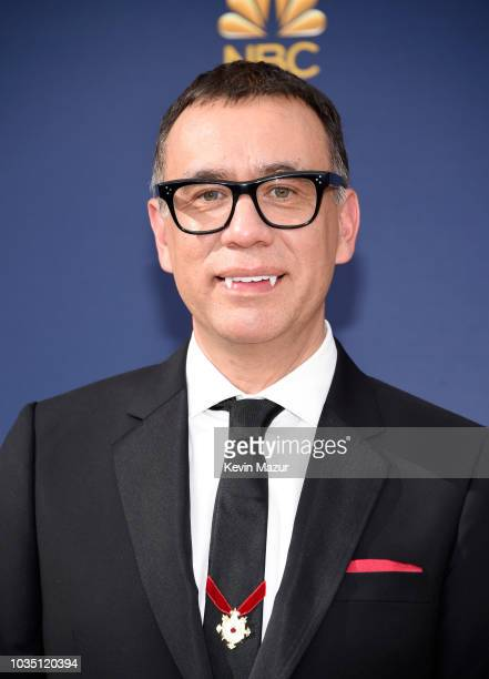 Fred Armisen attends the 70th Emmy Awards at Microsoft Theater on September 17 2018 in Los Angeles California