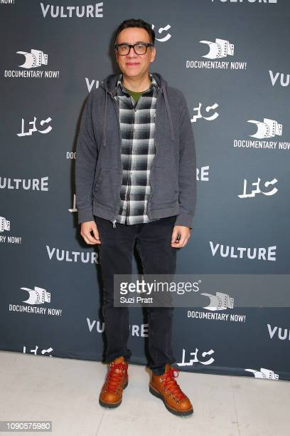 Fred Armisen attends the Documentary Now Red Carpet Screening And After Party during the 2019 Sundance Film Festival at The Egyptian Theatre on...