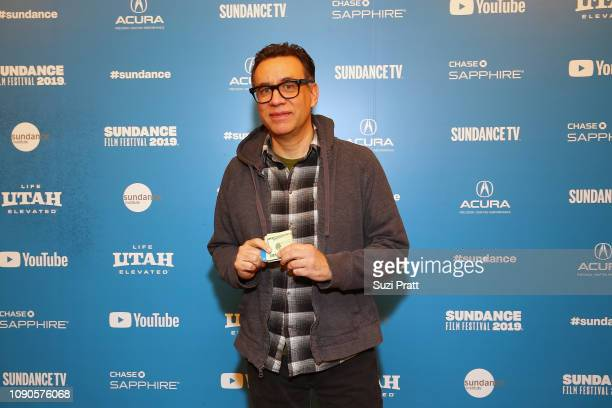 Fred Armisen attends the 'Documentary Now' Red Carpet Screening And After Party during the 2019 Sundance Film Festival at The Egyptian Theatre on...