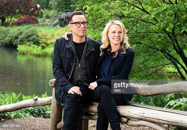 LIVE Fred Armisen Episode 1704 Pictured Host Fred Armisen and Kate McKinnon on May 17 2016