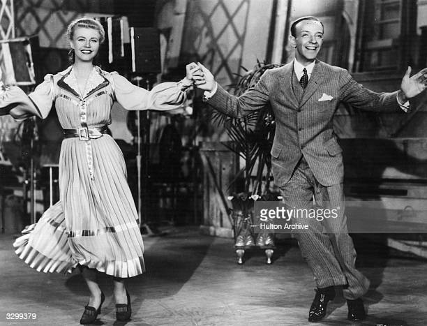 Fred Astaire and Ginger Rogers star in the film 'The Story of Vernon Irene Castle' the story of a husband and wife dance team prior to World War I It...