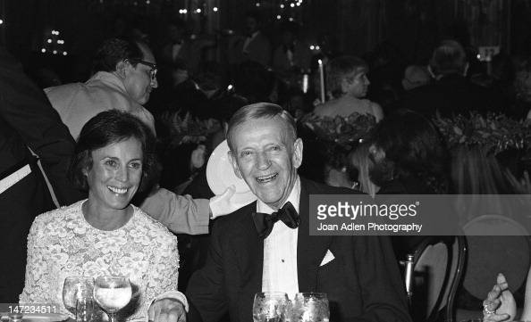 Fred Astaire And Wife Robyn Smith At American Film