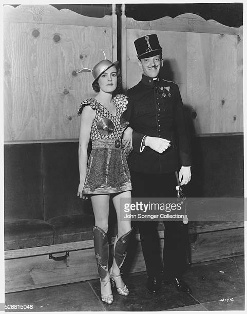 Fred Astaire and Wife Wearing Costumes
