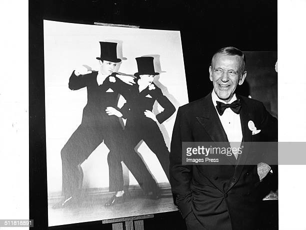 Fred Astaire attends the Film Society of Lincoln Center's Gala Tribute to Fred Astaire in New York City circa May 1973