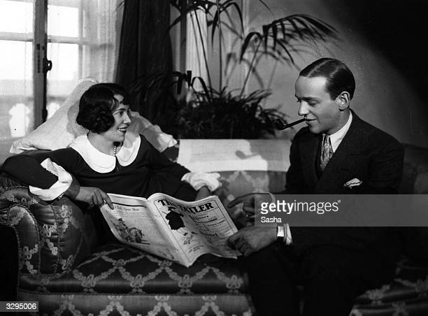 Fred Astaire the accomplished dancer singer and film actor and his sister Adele