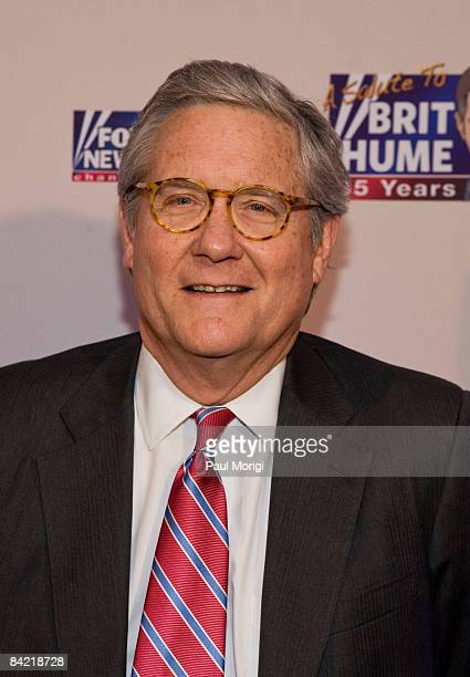 Fred Barnes attends salute to Brit Hume at Cafe Milano on January 8, 2009 in Washington, DC.