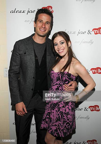Fred Bernstein and Bari MilkenBernstein attend the Alexx Jae And Milk FW10 Collection launch party at Milk Boutique on April 13 2010 in Los Angeles...