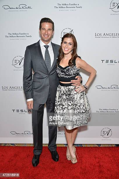 Fred Bernstein and Bari MilkenBernstein attend the Los Angeles Ballet Gala 2015 honoring Ghada Irani on Thursday May 7 at the Beverly Wilshire Four...