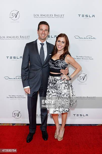 Fred Bernstein and Bari MilkenBernstein attends the Los Angeles Ballet 2015 Gala honoring Ghada Irani at the Beverly Wilshire Four Seasons Hotel on...