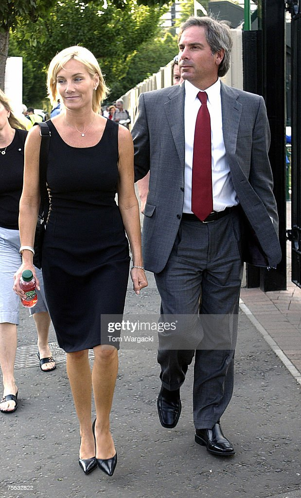 Fred Couples and guest in Wimbledon, United Kingdom.