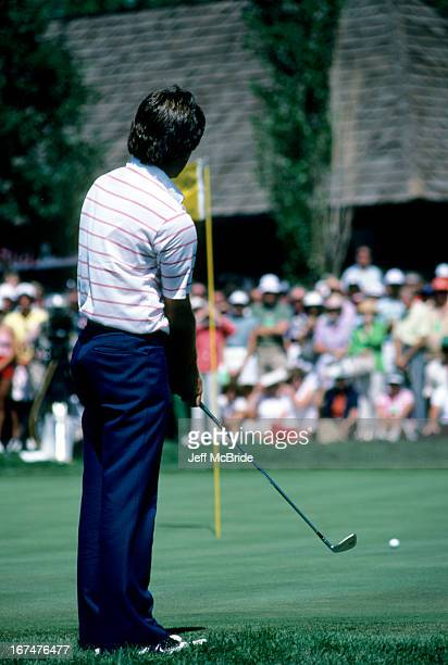 Fred Couples during the 67th PGA Championship held at Cherry Hills Country Club in Englewood Colorado August 811 1985