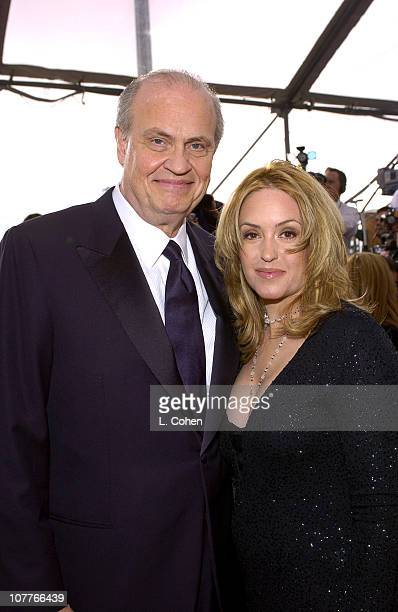 Fred Dalton Thompson and wife Jeri Kehn during 10th Annual Screen Actors Guild Awards Red Carpet at Shrine Auditorium in Los Angeles California...