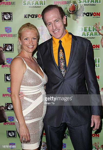 Fred DeWysocki and guest attend 'Delhi Safari' Los Angeles premiere at Pacific Theatre at The Grove on December 3 2012 in Los Angeles California