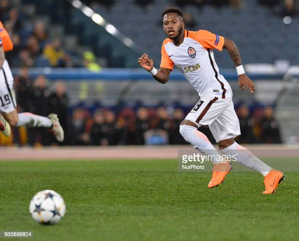 Fred during the Champions League football match AS Roma vs Shakhtar Donetsk at the Olympic Stadium in Rome on march 13 2018