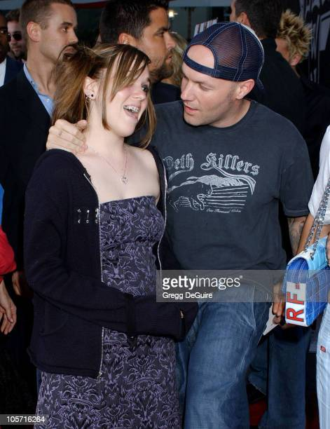 Fred Durst and daughter Adriana during Lords of Dogtown Los Angeles Premiere Arrivals at Grauman's Chinese Theatre in Hollywood California United...