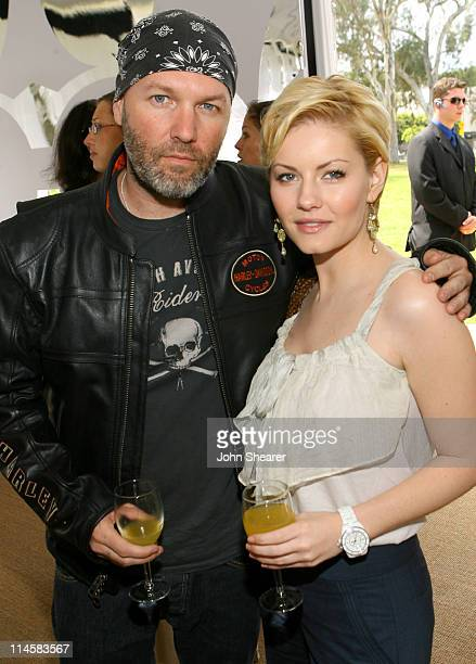 Fred Durst and Elisha Cuthbert during Coach Fragrance Launch to Benefit EBMRF in Los Angeles California United States