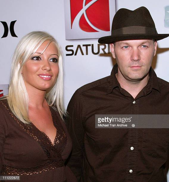 Fred Durst and fiancee Krista Salvatore during 2006 X-Games Saturn Party and Fashion Show at 6820 Hollywood Blvd. In Hollywood, California, United...