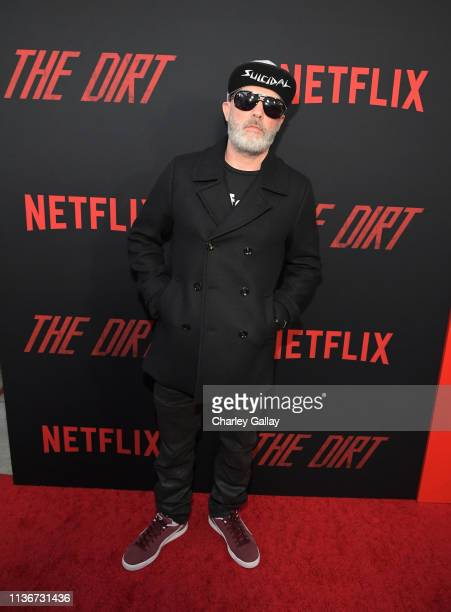 """Fred Durst attends the premiere of Netflix's 'The Dirt"""" at the Arclight Hollywood on March 18, 2019 in Hollywood, California."""