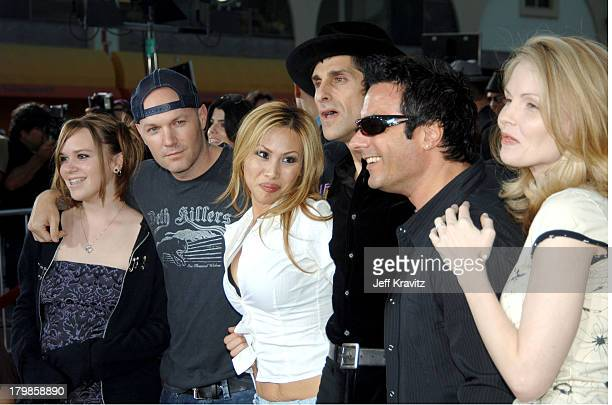 Fred Durst daughter Adriana Etty Farrell Perry Farrell Peter Distefano and guest