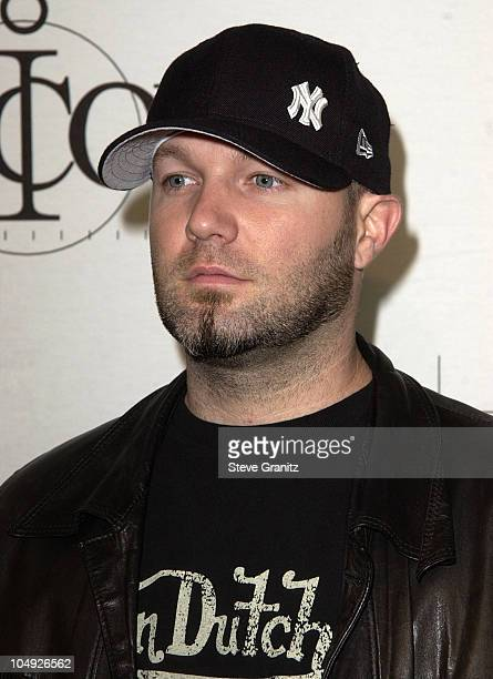 Fred Durst during MTV Icon Honors Aerosmith - Arrivals at Sony Pictures Studios in Culver City, California, United States.