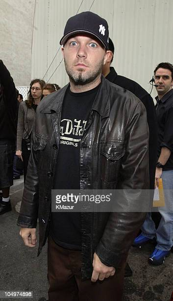 Fred Durst during MTV Icon Honors Aerosmith Arrivals at Sony Pictures Studios in Culver City California United States