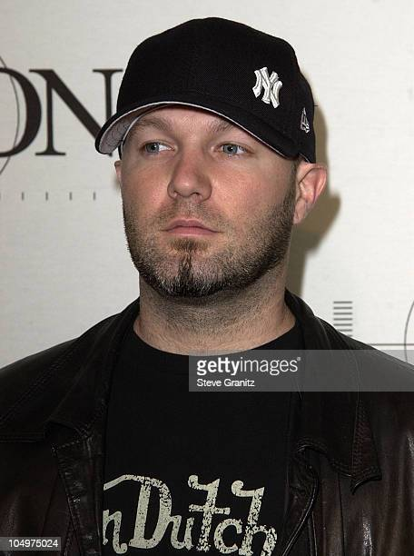 Fred Durst during MTV Icon Honors Aerosmith Arrivals at Sony Pictures  Studios in Culver City California 77c00421fda