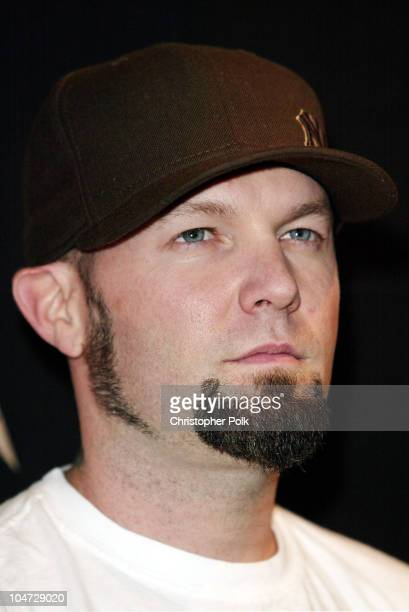 Fred Durst during MTV Icon Metallica Arrivals at Universal Studios Stage 12 in Universal City CA United States