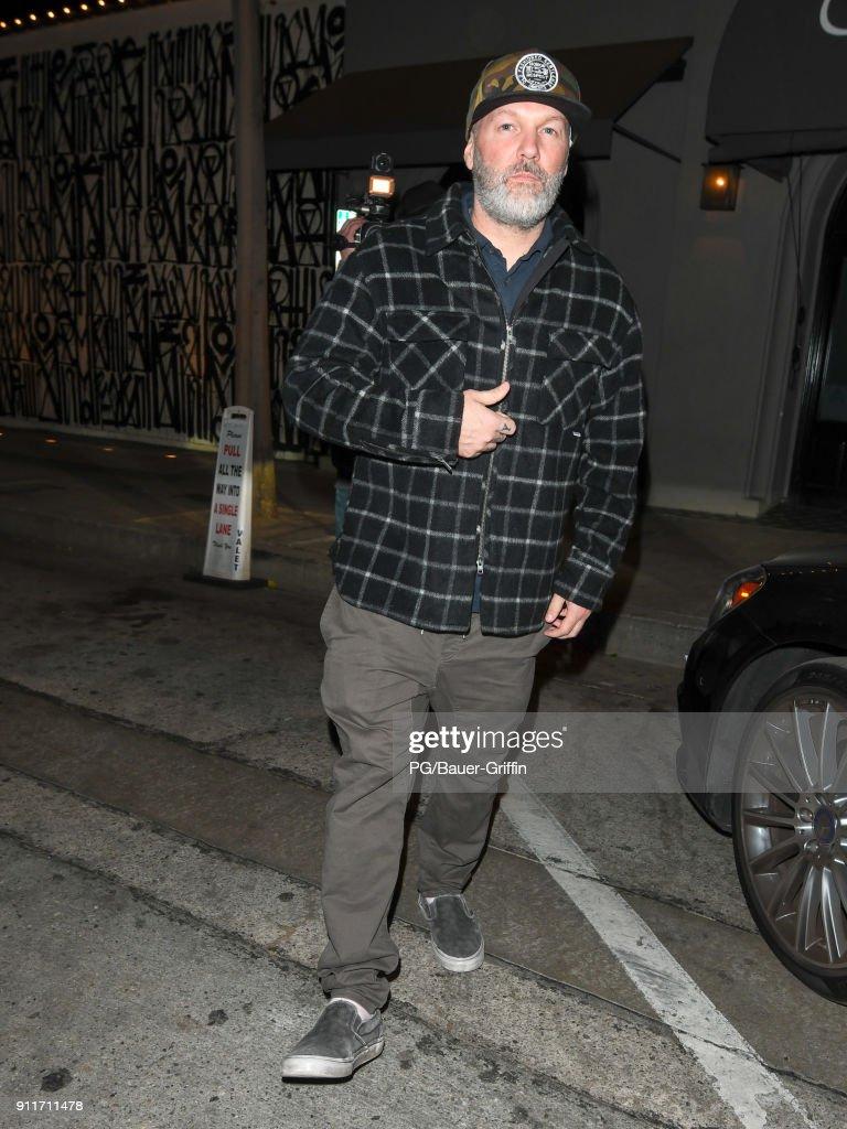 Celebrity Sightings In Los Angeles - January 28, 2018