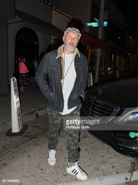 Fred Durst is seen on November 07, 2017 in Los Angeles, California.