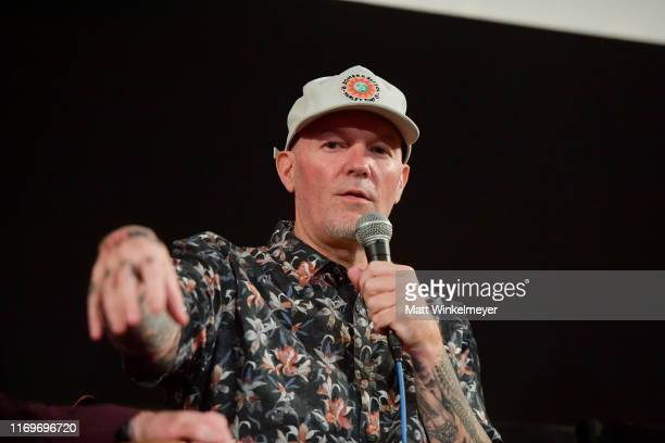 """Fred Durst speaks onstage during the premiere of Quiver Distribution's """"The Fanatic"""" on August 22, 2019 in Hollywood, California."""