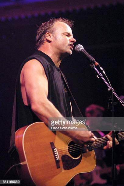 Fred Eaglesmith, guitar and vocals, performs at the Paradiso on October 4th 2002 in Amsterdam, the Netherlands.