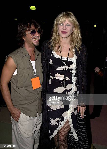 Fred Farrugia Courtney Love during Jeremy Scott Fashion Show with Makeup by Fred Farrugia of Lancome at Pacific Design Center in West Hollywood...