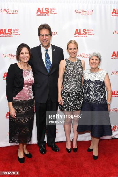 Fred Fisher and Guests attend ALS Golden West Chapter Hosts Champions For Care And A Cure at The Fairmont Miramar Hotel Bungalows on December 2 2017...