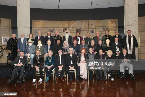 Fred Foster, Randy Travis, Barbara Gimble – wife of the late Johnny Gimble, Dick Gimble – son of the late Johnny Gimble, Ricky Skaggs, Shelly West –...