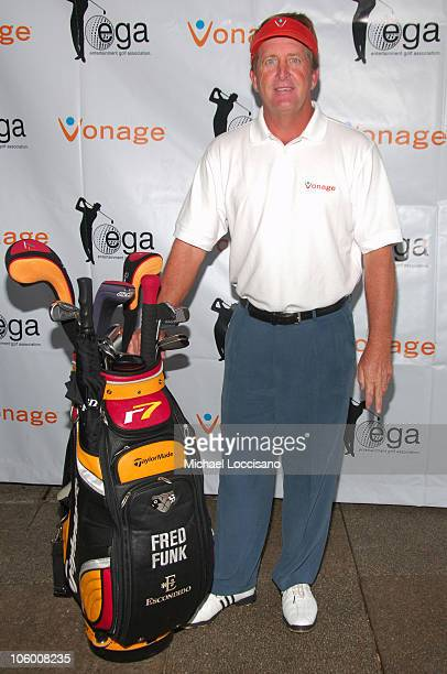 Fred Funk during Entertainmamt Golf Association's 4th Annual Celebrity Golf Tournament at Minisceongo Golf Club in Pomona, New York, United States.