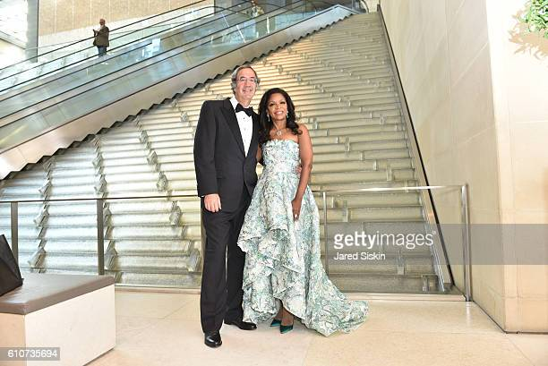 Fred Giuffrida and Pamela Joyner attend Abstracted Black Tie Dinner Hosted by Pamela Joyner Fred Giuffrida and the Ogden Museum of Southern Art to...