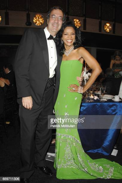 Fred Giuffrida and Pamela Joyner attend THE SCHOOL OF AMERICAN BALLET Winter Ball 2009 at David H Koch Theater on March 9 2009 in New York City