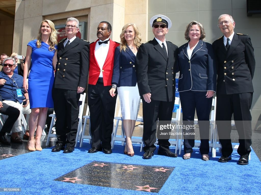 """Princess Cruises and the Original Cast of """"The Love Boat"""" Receive Honorary Star Plaque for donating to the preservation of the Hollywood Walk of Fame : News Photo"""