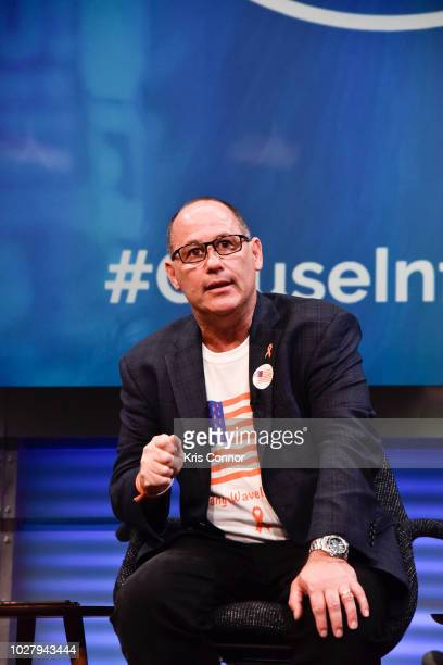 Fred Guttenberg attends the Influence Nation Summit 2018 At National Geographic at the National Geographic Society on September 6 2018 in Washington...