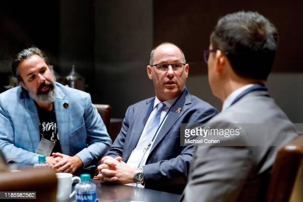 Fred Guttenberg speaks during a Taskforce session at 2019 New York Times Dealbook on November 06 2019 in New York City