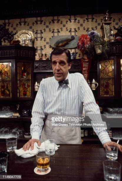 Fred Gwynne appearing in the ABC tv series 'The Corner Bar'