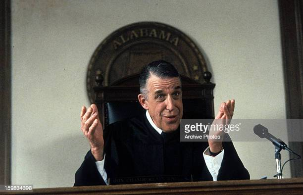 Fred Gwynne judges in a scene from the film 'My Cousin Vinny' 1992