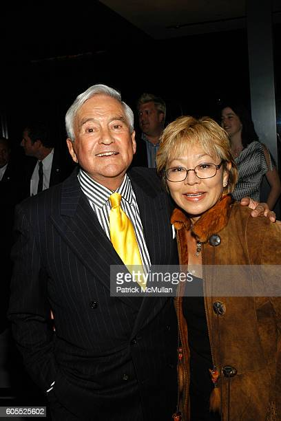 Fred Hayman and Betty Hayman attend HARRY WINSTON to Celebrate Opening of New Beverly Hills Flagship Store at Harry Winston on January 11 2006 in...